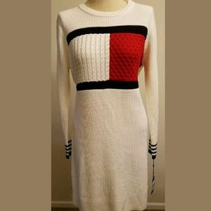 Women's Tommy Hilfiger Logo Flag Dress